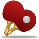 128x128px size png icon of Sport table tennis