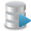 128x128px size png icon of Sql runner