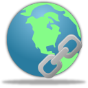 128x128px size png icon of Insert hyperlink