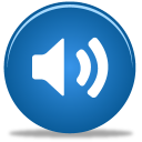 128x128px size png icon of Sound on