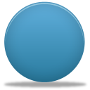 128x128px size png icon of circle