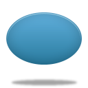 128x128px size png icon of elipse