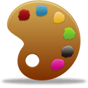 128x128px size png icon of palette