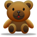 128x128px size png icon of teddy bear