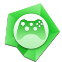 128x128px size png icon of Games alt