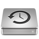 128x128px size png icon of Aluport Time Machine