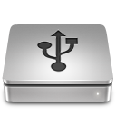 128x128px size png icon of Aluport USB