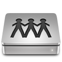 128x128px size png icon of Aluport server