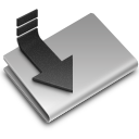 128x128px size png icon of Downloads