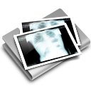 128x128px size png icon of Thorax X Ray