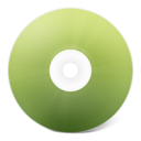 128x128px size png icon of CD avant vert
