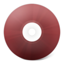 128x128px size png icon of CD rouge
