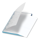 128x128px size png icon of Documents bleu