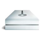 128x128px size png icon of Hdd metal