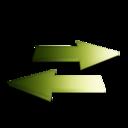 128x128px size png icon of Rafraichir