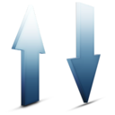 128x128px size png icon of Transfert sky