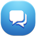128x128px size png icon of conversations
