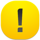 128x128px size png icon of danger