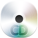 128x128px size png icon of cd disc