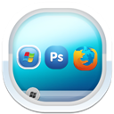 128x128px size png icon of desktop 3