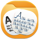 128x128px size png icon of folder documents 3