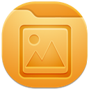 128x128px size png icon of folder picture