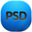 128x128px size png icon of psd