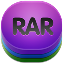 128x128px size png icon of rar 2