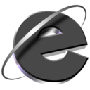 128x128px size png icon of Q's IE Metal2