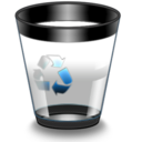 128x128px size png icon of Qs R14 Bin4 Empty