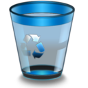 128x128px size png icon of Qs R14 BinEmpty3