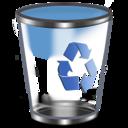 128x128px size png icon of Qx9 Vista Bin2 Empty