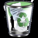 128x128px size png icon of Qx9 Vista Bin2 Full Green