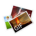128x128px size png icon of GIF File