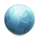 128x128px size png icon of Globe Connected