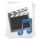 Movie & Music File Icon