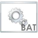 128x128px size png icon of Bat file