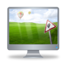 128x128px size png icon of Computer 2
