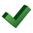 128x128px size png icon of Accept