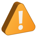 128x128px size png icon of Alert