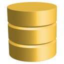 128x128px size png icon of Database Active