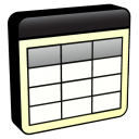 128x128px size png icon of Database Table