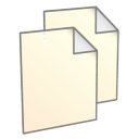 128x128px size png icon of File Copy