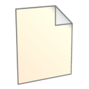 128x128px size png icon of File New