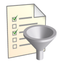 128x128px size png icon of Filter List
