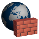 128x128px size png icon of Firewall
