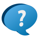 128x128px size png icon of Help