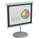 128x128px size png icon of Presentation