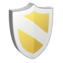 128x128px size png icon of Protect Yellow