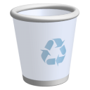128x128px size png icon of Recycle Bin